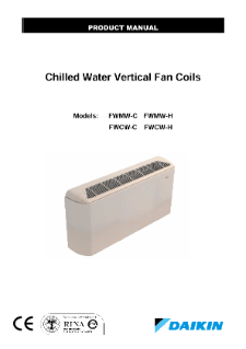 Chilled Water Vertical Fan Coils