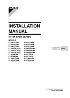 FTS-JVAK, RS-JVAK Installation Manual EN-AR