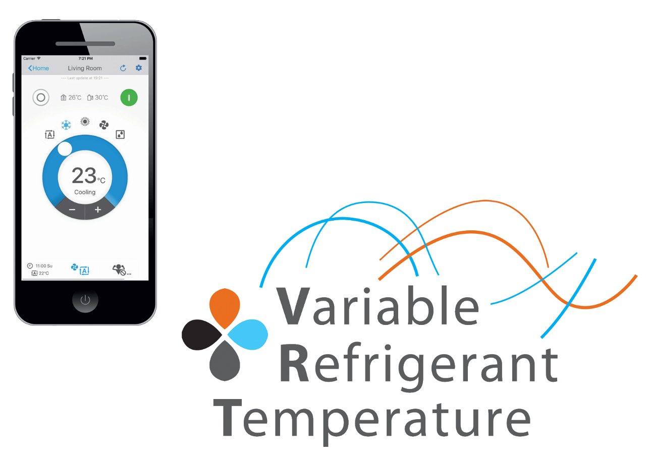 Refrigerant temperature